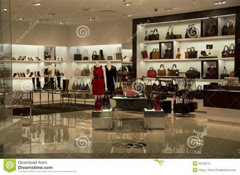 luxury handbag purse fashion store editorial photography