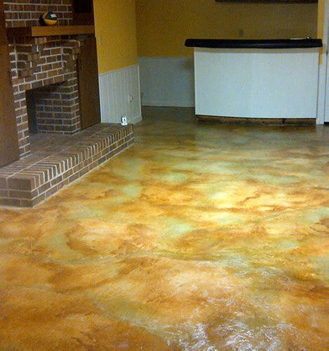 how to acid staining concrete floors directcolors