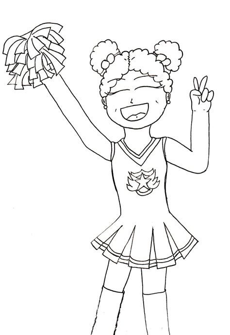 coloring page  sports kids