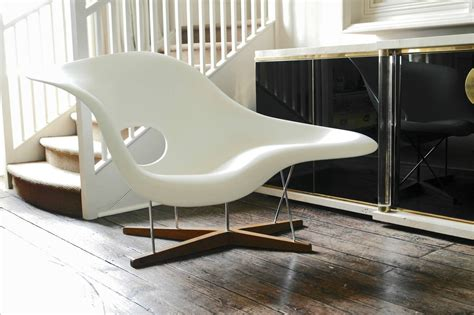 chaise style charles eames vitra edition la chaise by charles and eames for sale at 1stdibs