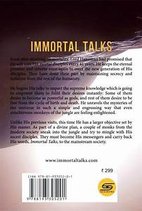 Immortal Talks - book 1- English- Paperback – Seer Books