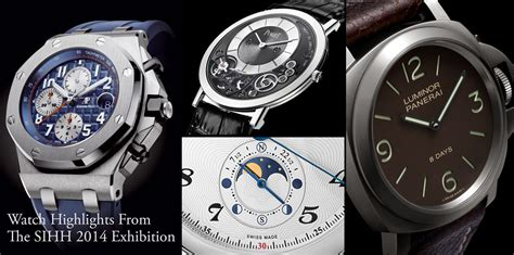 Watch Highlights From The SIHH 2014 Exhibition ...