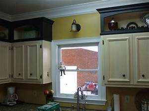 Pimping a Kitchen with Add-on Cabinet Toppers - by David