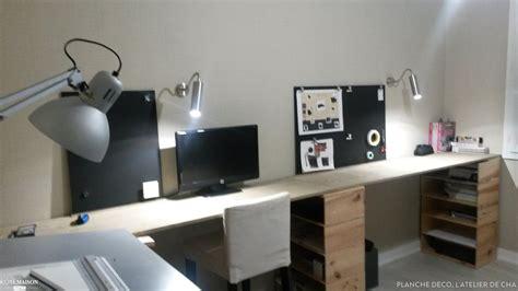 chambre d hotes design réalisation d 39 un bureau planche déco l 39 atelier de cha