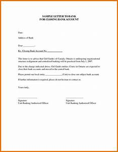 10 bank account closing letter sample texas tech rehab With account closure letter template