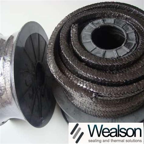 glass fiber packing  graphite impregnation wealson