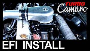 1967 Turbo Camaro - Inline 6 Carburetor To Holley Sniper Efi Install