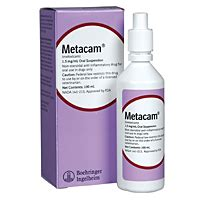metacam meloxicam oral suspension  mgml  ml