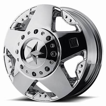 Dually Wheels Rockstar Chrome Xd775 Kmc Rims