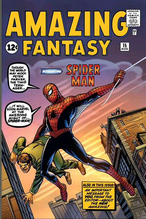 Throwback Thirstday Amazing Fantasy #15 Review Popnerdtv