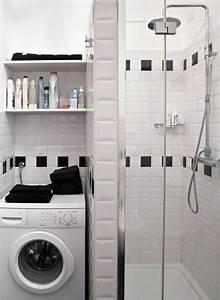 Kleine Waschmaschine Mit Trockner : kleines bad ideen platzsparende badm bel und viele ~ Michelbontemps.com Haus und Dekorationen