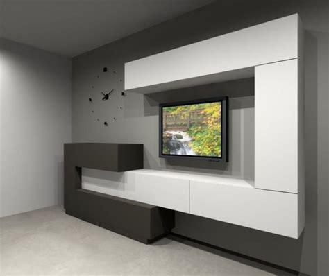 outstanding ideas  tv shelves  design  attractive living room