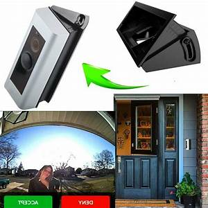 Compatible Ring Video Doorbell Pro Wedge Corner Kit