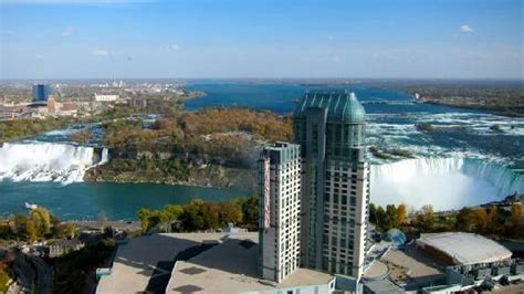 view from room picture of hilton niagara falls fallsview