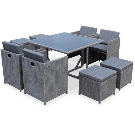chaise de jardin grise emejing table de jardin en resine libeccio grise