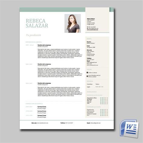De Cv by Cv Curriculum Vitae Profesional Elegante 100 Editable