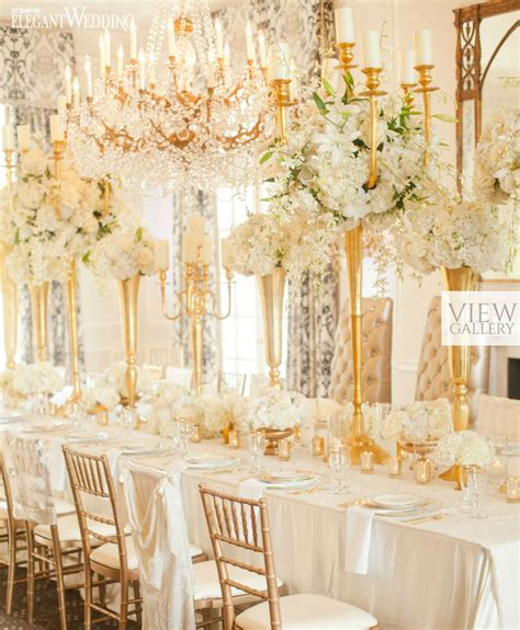 Gold Wedding Table Settings & Photo By Bellissima Photography