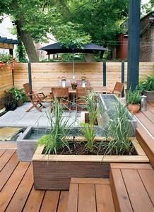 les 25 meilleures idees de la categorie terrasse beton sur With idee amenagement jardin de ville 12 les 25 meilleures idees de la categorie escalier exterieur