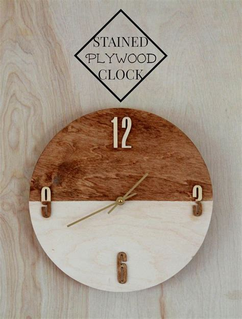 super cool diy clock ideas    statement