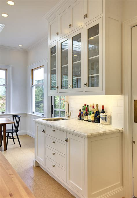bar cabinets with sink kitchen traditional with bar