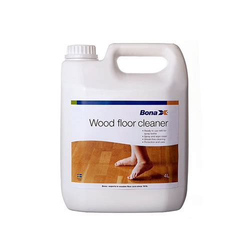 Bona Hardwood Floor Cleaner Spray by 4l Bona Floor Cleaner Refill For Spray For Treated