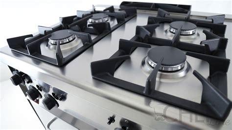 Shock Piani Cottura by Cucina Professionale Prezzi Shock 4 Fuochi Forno A Gas