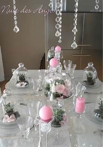 Deco Table Rose Et Gris : d coration de table les succulentes nuit des anges ~ Melissatoandfro.com Idées de Décoration