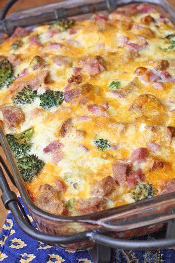 casserole dish recipes ham and broccoli breakfast casserole