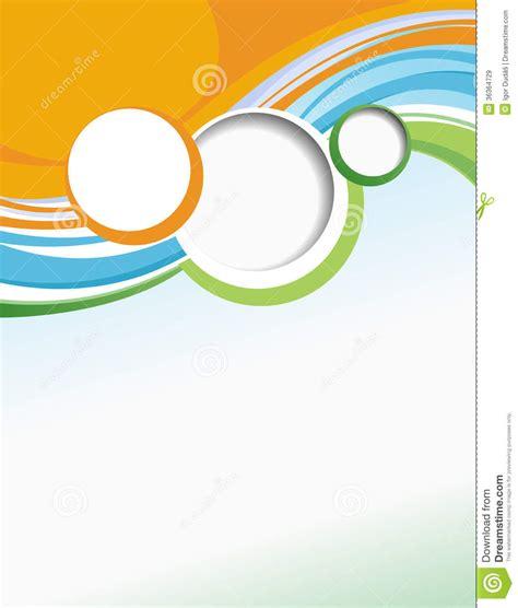 business brochure template stock illustration image