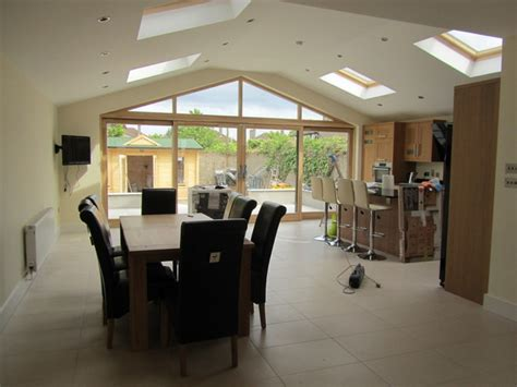 house renovation  extension contemporary dining