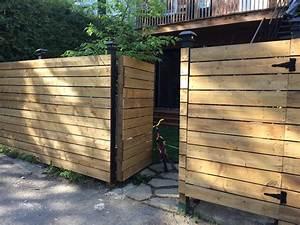 Faire Une Cloture En Bois : porte cloture bois clotures pour jardin chromeleon ~ Dallasstarsshop.com Idées de Décoration