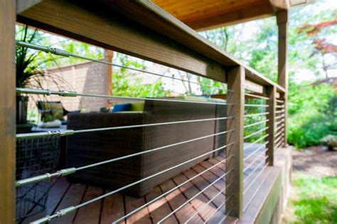 Steel Deck Handrails by What Are The Pros And Cons Of Steel Cable Deck Railings