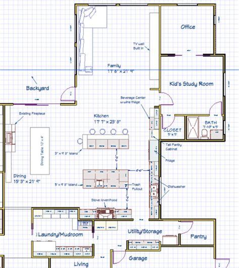 Need help with kitchen island layout. Double island Bad