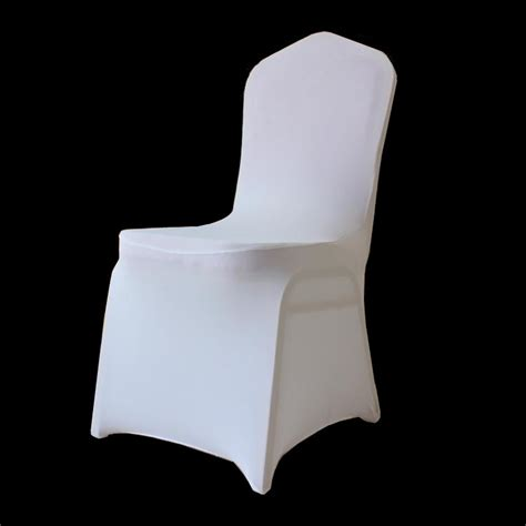 100 pcs stretch elastic universal white spandex wedding