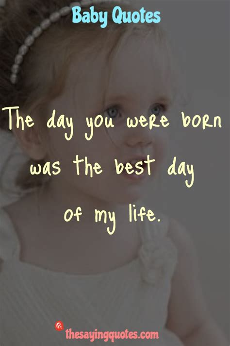 500+ Inspirational Baby Quotes and Sayings for a New Baby ...
