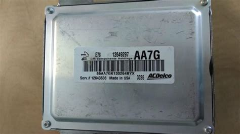 buy acdelco gm emission control module ecu