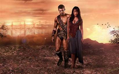 Spartacus Wallpapers Tv Wallpapersafari Code Blood Plus