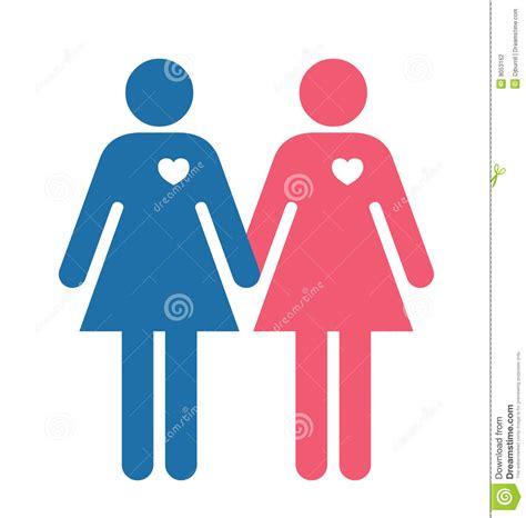 lesbian lovers illustration stock photography image