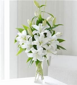 SarniaFlowers Funeral Arrangement White Lilies