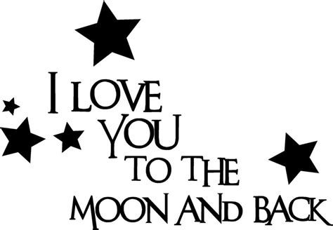 I You To The Moon And Back Kleurplaat by I You To The Moon And Back Vinyl Decal Sticker