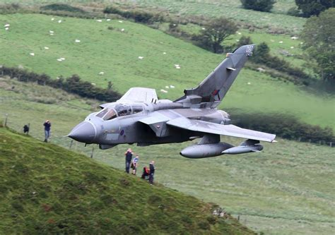 Patchwork Paint Scheme Makes Tornado ZD749 the RAF's Most