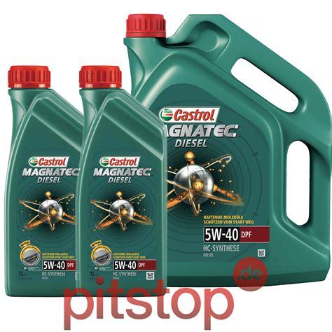 motoröl vw 50200 7 liter 5l 2l castrol magnatec diesel 5w 40 dpf motor 214 l vw 50200 50500 50501 ebay