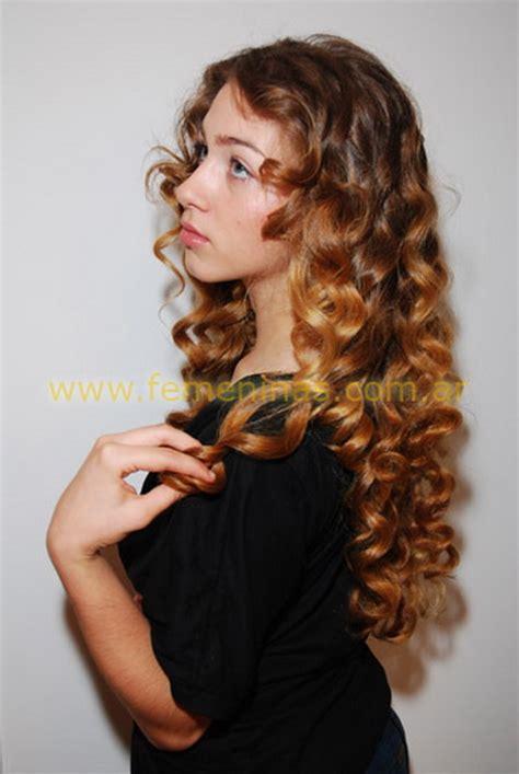 cortes de pelo largo  rulos