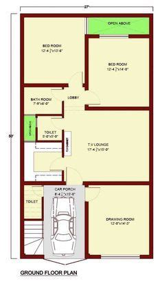 Bathroom Floor Plans India by 30 X 60 House Plans 187 Modern Architecture Center Indian