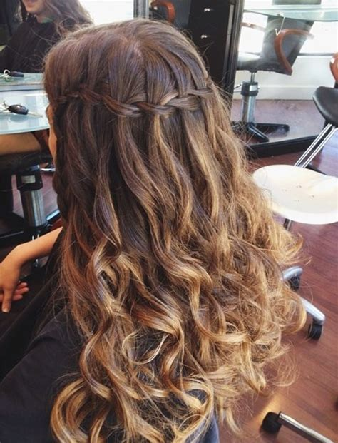 cute hairstyles for homecoming long hair hair