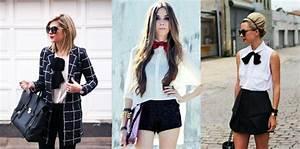 Style Chic Femme : le n ud papillon un accessoire tendance so ladies ~ Melissatoandfro.com Idées de Décoration