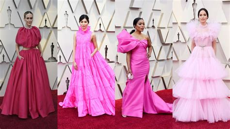 The Oscars Red Carpet Was Very Pink Fashionista