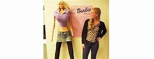 Life-size Barbie Doll Shocks with Anorexic Proportions