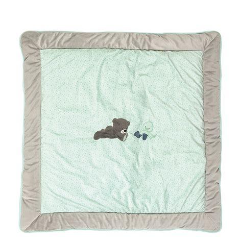 tapis de parc 100x100cm jules et nestor de nattou