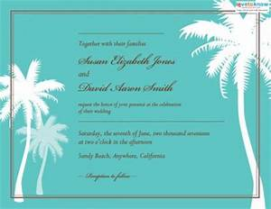 beach wedding invitations lovetoknow With free printable beach wedding invitations templates downloads